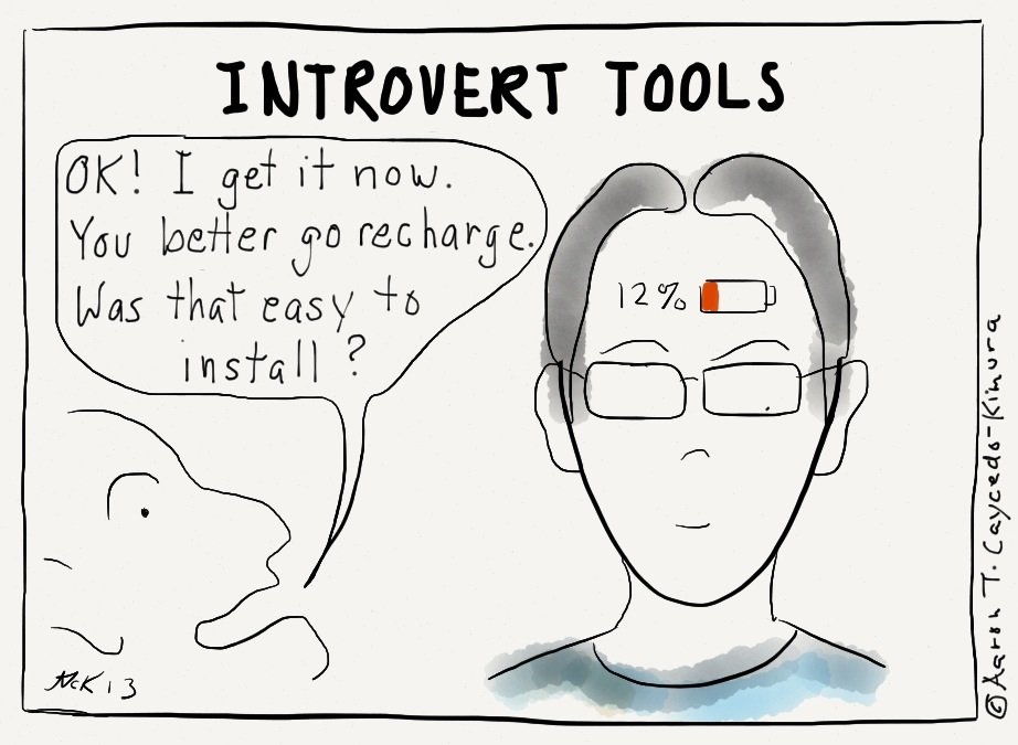 Cartoons That Introverts Especially INFJs Will Relate To - 20 struggles perfectly sum life introvert