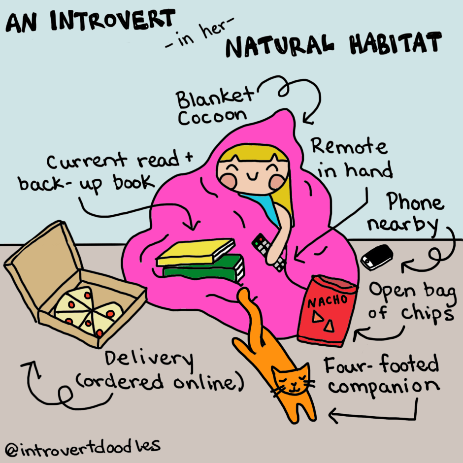Introverts With Social Anxiety, Do You Relate to These Comics?