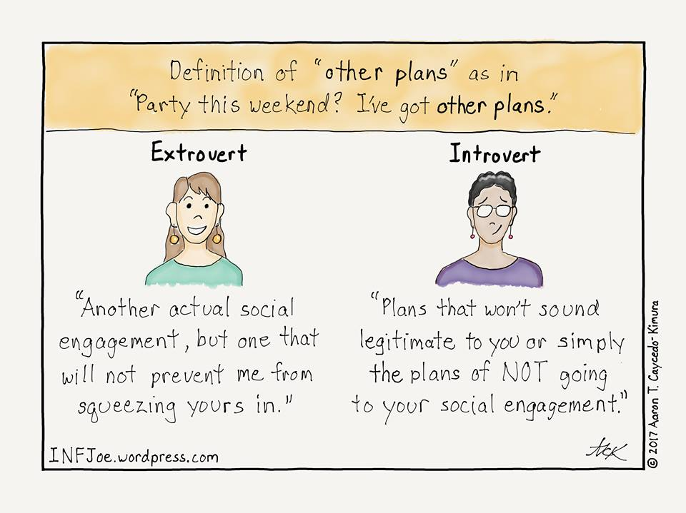 13 Brilliant Cartoons That Are All Too Real for Introverts
