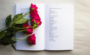 roses on a book representing INFJ quotes by INFJ people