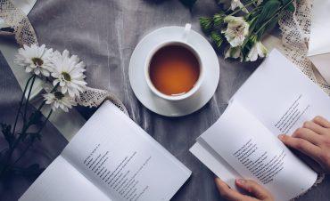 An introvert enjoys reading.