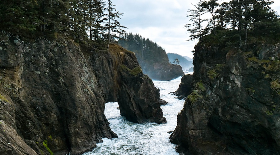 A view of the Oregon Coast