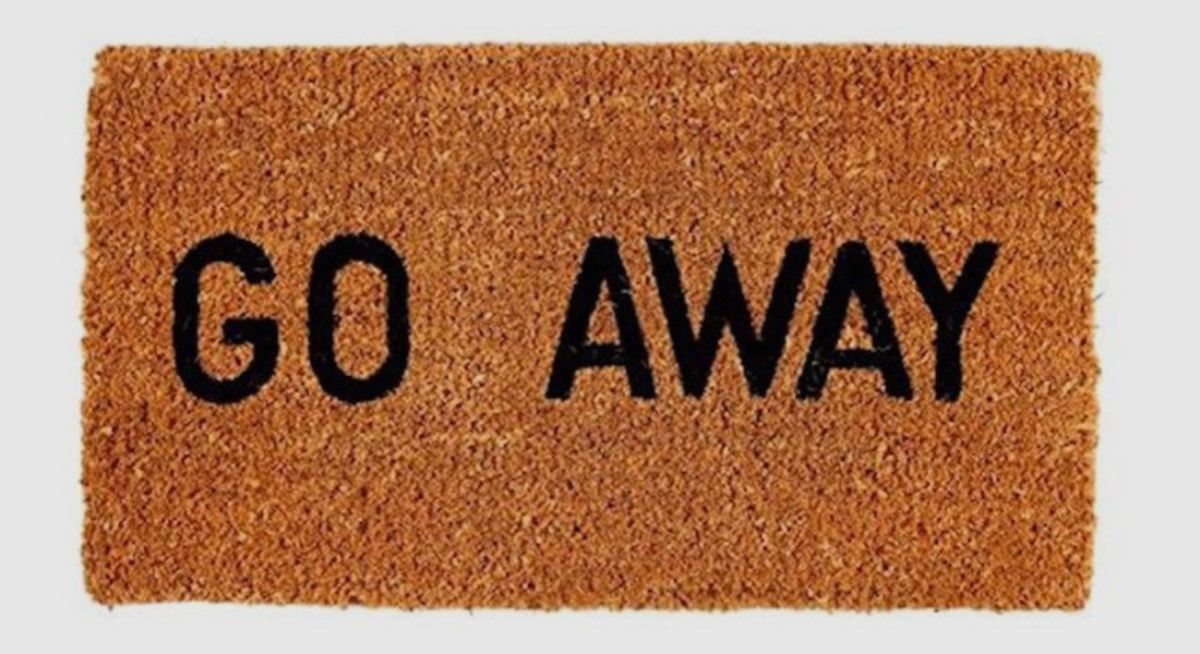 gifts for introverts doormat
