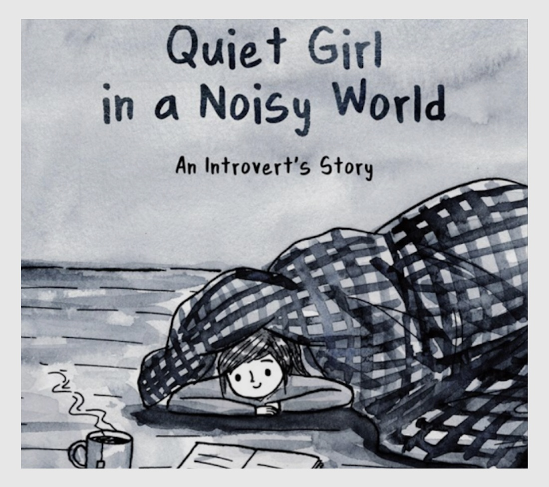 Quiet Girl in a Noisy World book cover gift for introverts