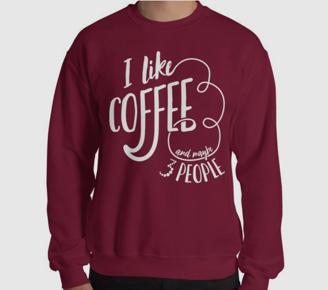 gifts for introverts sweatshirt people