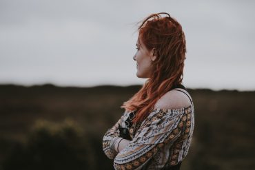 an INFJ looks away from the camera