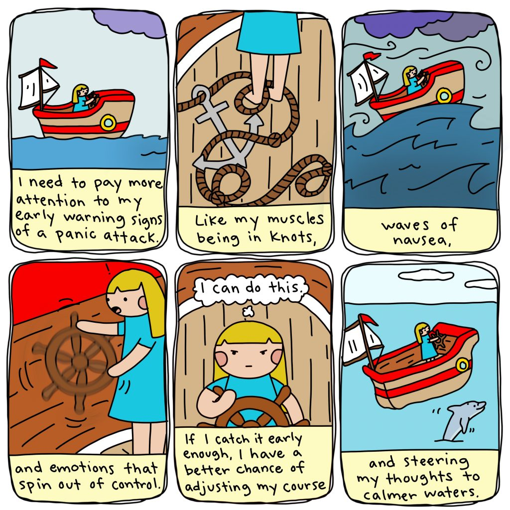 a comic from Marzi Wilson's Kind of Coping