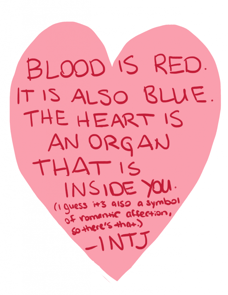 a valentine from an INTJ personality