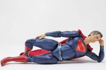 a Superman toy representing each introverted Myers-Briggs personality types' kryptonite