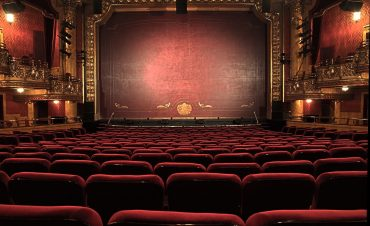 a theatre stage representing an introvert actor
