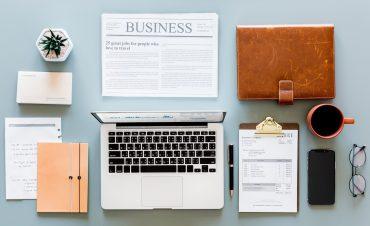 the desk of an INFJ entrepreneur