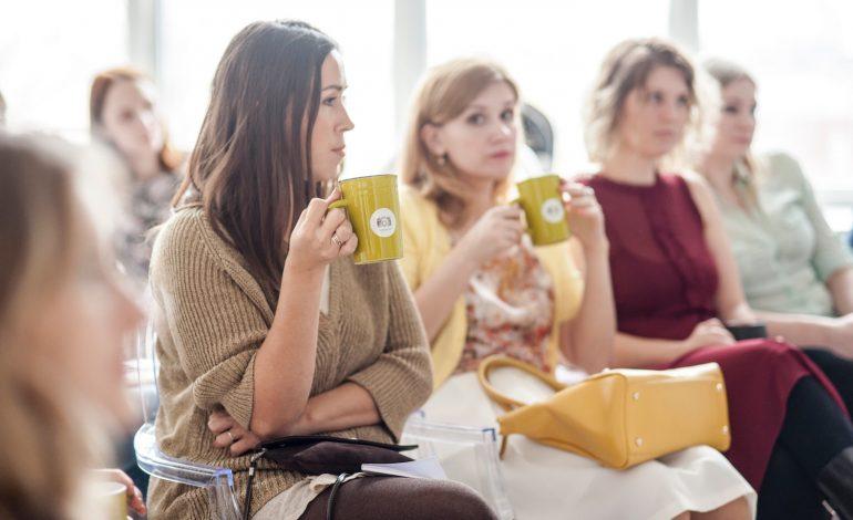 an introvert attends a school PTA meeting