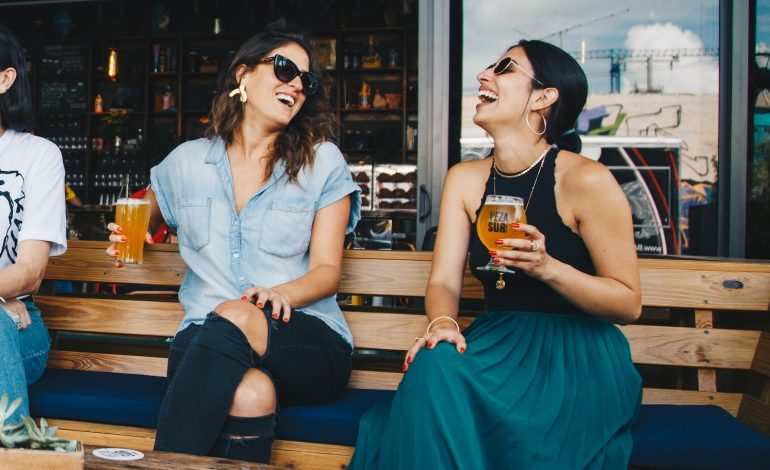 two women have seasonal extrovert disorder