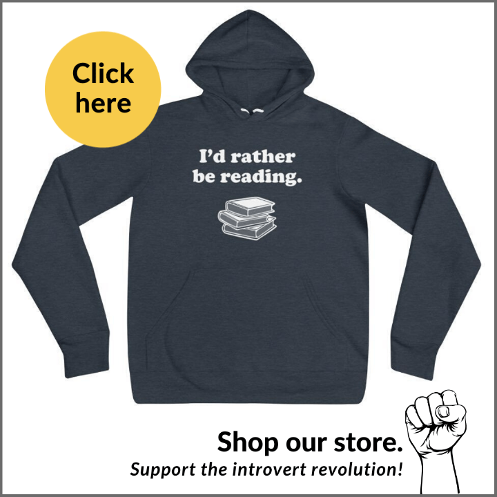 I'd rather be reading hooded sweatshirt for introverts