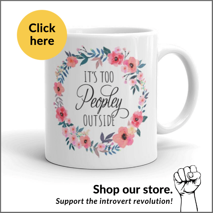 it's too peopley outside coffee mug for introverts