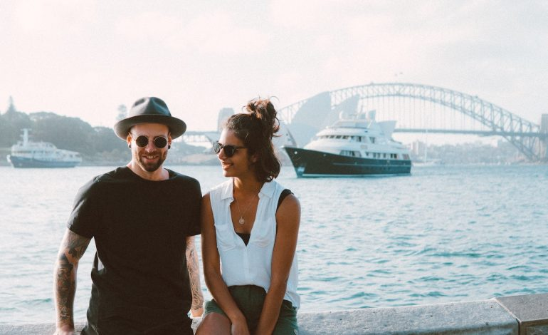 a couple that met on So Syncd, a Myers-Briggs dating app