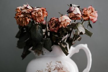 dead flowers represent an INFP in a bad relationship