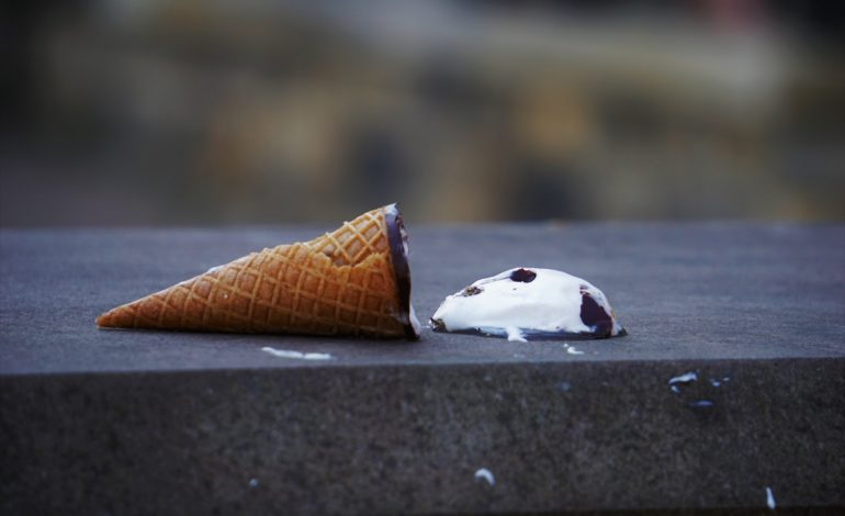 a dropped ice cream cone represents an INFJ's inferior extraverted sensing