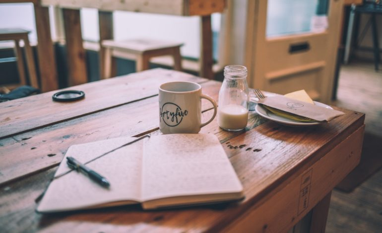 a notebook represents why fiction writing is the perfect hobby for introverts
