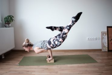 a women embraces her introversion through yoga
