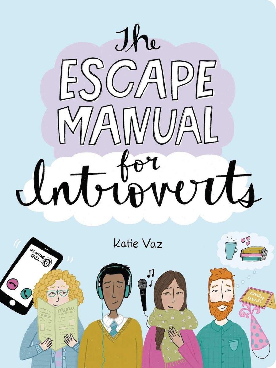 The Escape Manual for Introverts by Katie Vaz book cover