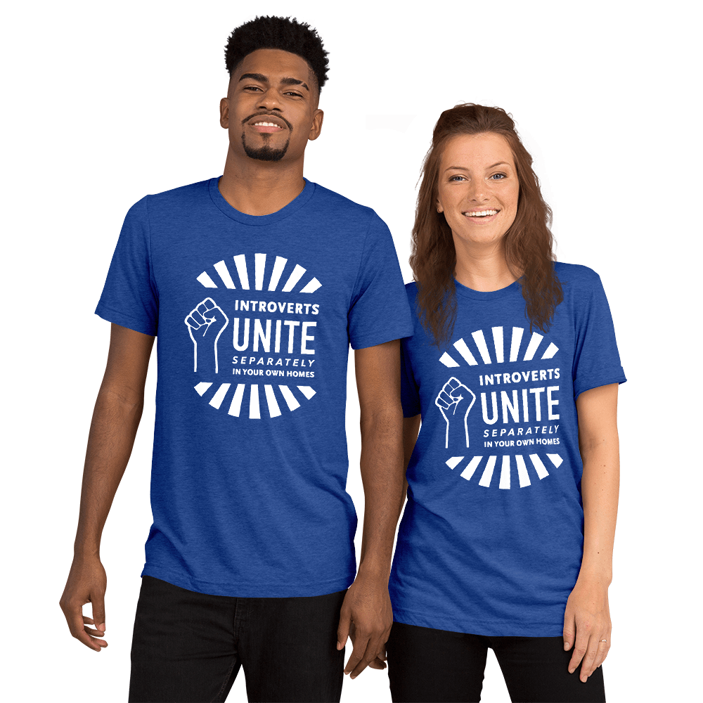 best introvert gifts introverts unite t-shirt