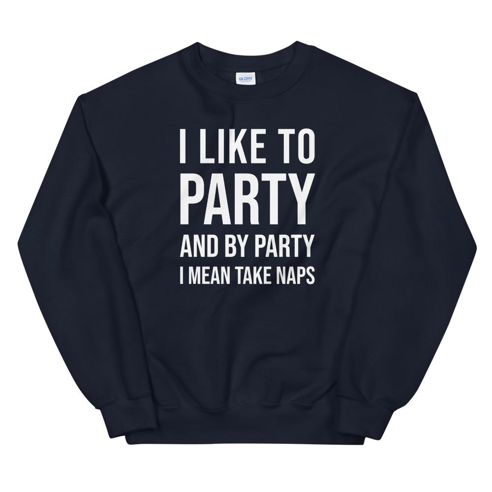 best gifts for introverts party sweatshirt