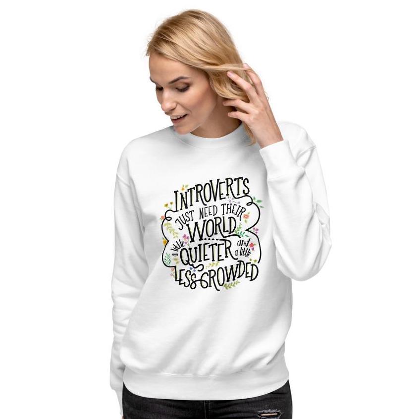 best gifts for introverts quieter world premium fleece pullover