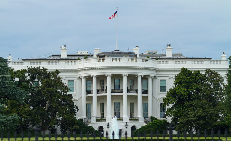 The White House, where some female introverts in government work