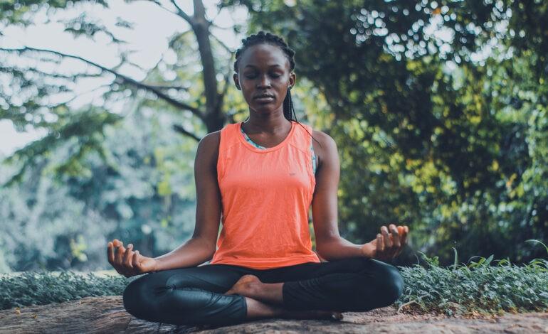An introvert meditates