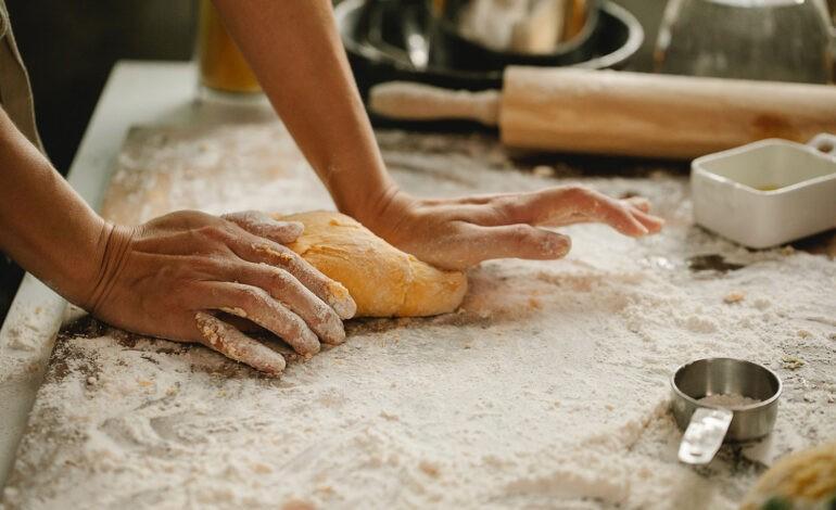 An introvert bakes