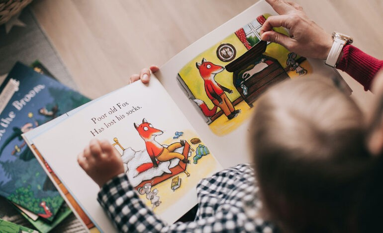 An introvert working with children