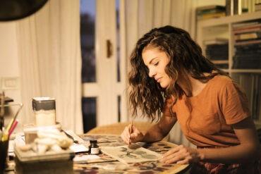 A creative introvert