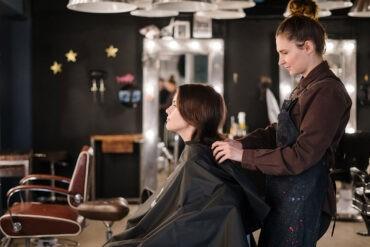 An introvert at a hair salon