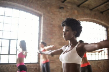 An introvert exercising