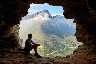 An introvert travels alone