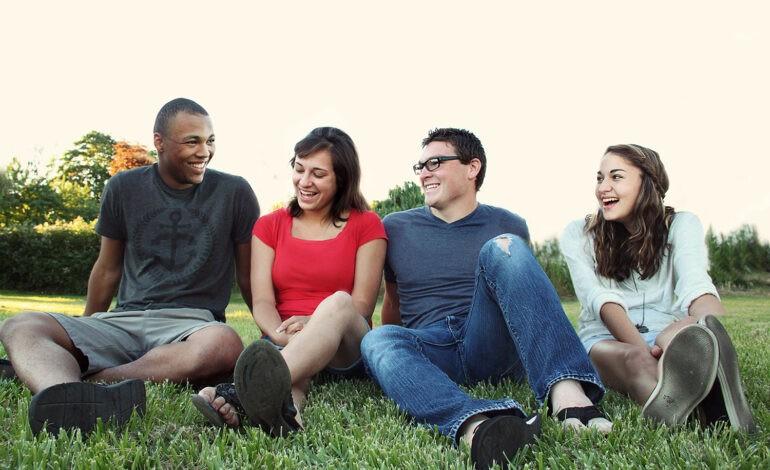 An introvert belongs to a community