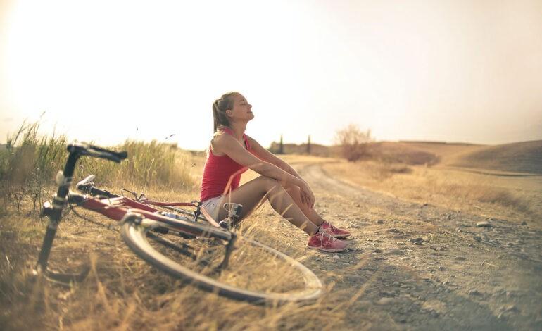 An introvert enjoys a summer activity