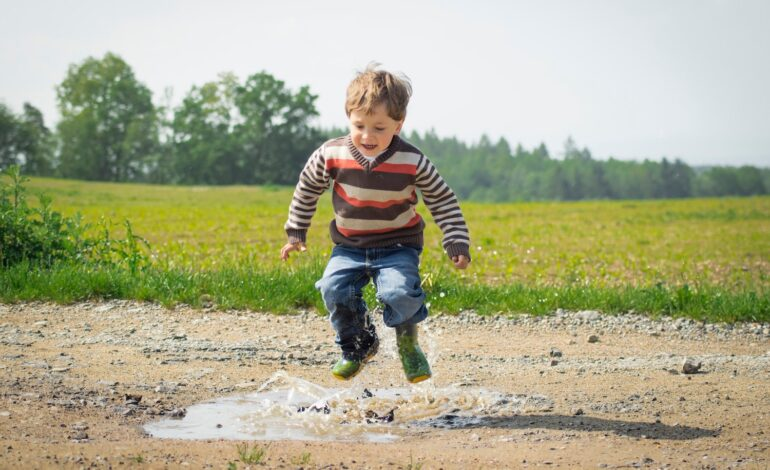a highly active child