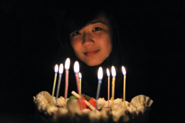 An introvert celebrates their birthday