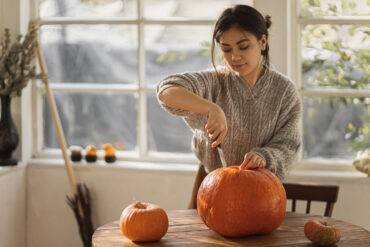 An introvert celebrates fall