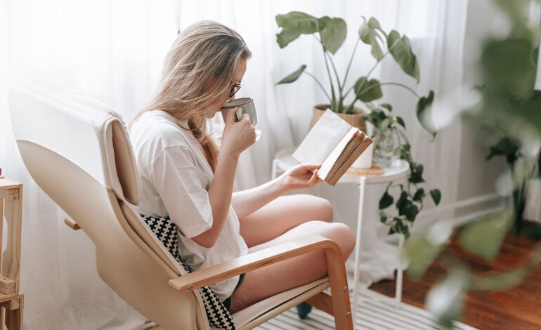 An introvert gives herself what she needs to thrive