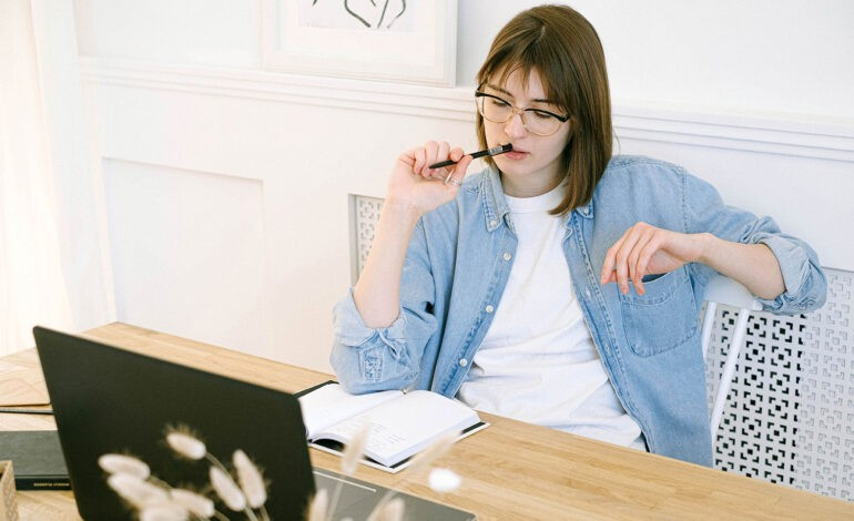 An introvert at work